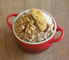 Quinoa with Cinnamon Oats